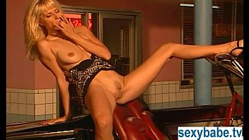Cars with nude girls Bleach blonde masturbating