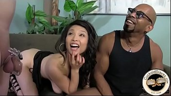 Asian babe violated by Shane Diesel