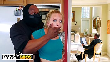 BANGBROS - Sexy PAWG AJ Applegate Fucked By Home Invader With Dad In BG thumbnail