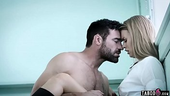 Schoolgirl seduces handsome gym teacher but they get filmed