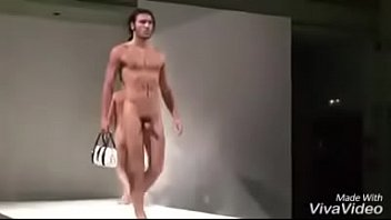 Nude Male Models Display Thier Cocks and Bags