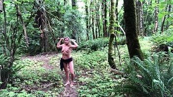 Fun time in the woods