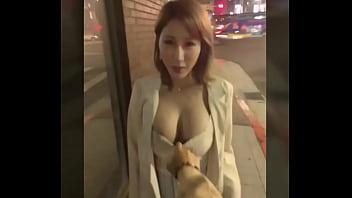 辛尤里 yui xin Taiwan model showed tits