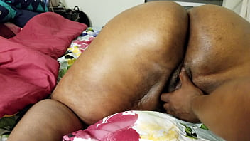 BLACK LADY WITH BIG ASS GETS A FAT EBONY BBC TO FUCK HER