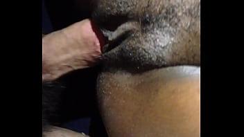 Nigerian GF loves my white cock