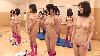 Embarrassed to be naked Subtitled enf cfnf japanese soccer group penalty in hd