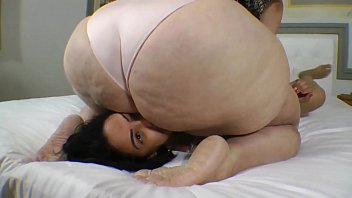 Plus size bdsm bondage Buried and humiliated under ssbbw joyces butt