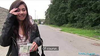 Public Agent Asian cutie fucked by a stranger for money baby xvideo