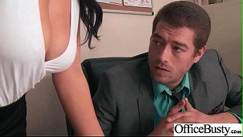 Big Melon Tits Girl (Noelle Easton) Love hardcore Sex In Office video-20
