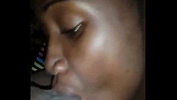 Ugandan Babe blowjob and licking ass