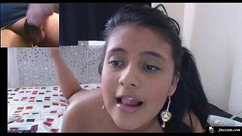 Hot Petite Latina Cam Girl Makes Me Cum Thumb