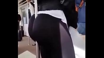 culona en bus