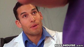 HotHouse Latino Nurse Bangs Hunky Doctor
