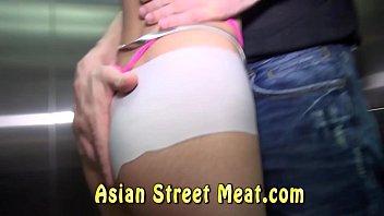 Demure Asian Has Bum Plundered