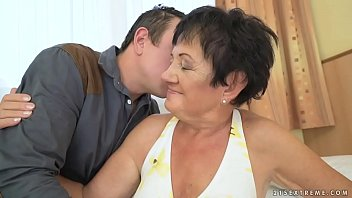 Grandma wants a young lover sucking mature matures