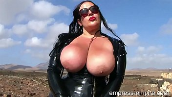 Latex hood Latex lady s. - bbw