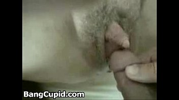 Hairy mature with big clit gets fucked