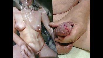 Spermaschlampe ins Gesicht, auf die Titten und die Fotze gespritzt by Kater xxx