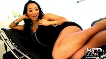 WCPClub Asa Akira taking a giant BBC in her ass