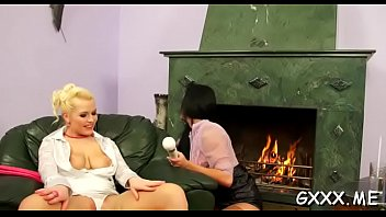 Girl'_s tits and cookie licked