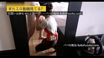 【無修正】ホテルのウェーター兼職する売春