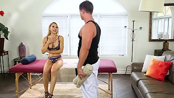 Wife never cums - Wife cheats on her husband with the masseur - eric masterson, alix lynx