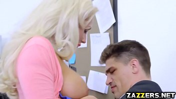 Bruce Venture fucks Olivia Fox doggystyle in the office