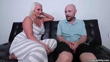 cumblast-Busty blonde gets a facial thumbnail