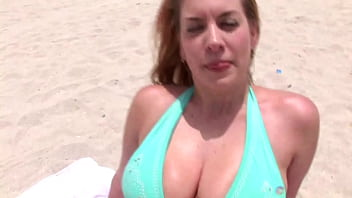 Big tits and blowjobs in pov preview image