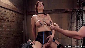 Huge tits Milf anal group sex training