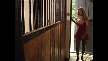 Hot Babe Fucked in Horse Stable