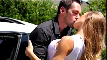 blonde sexy wife busty car hunk  more on www.tr.im/brazzers