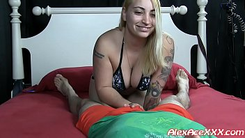 Kendra Mia Ruins her first Hand Job!