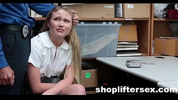Catholic Schoolgirl Fucked For stealing |shopliftersex.com