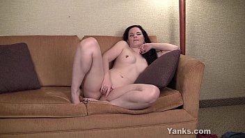 Pierced Caroline Masturbating Image