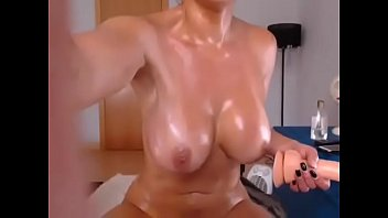 sexy girl-playing with dildo-multiple orgasms-more at-fuksexcam.com