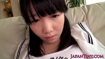 Petite oriental slut jizz faced