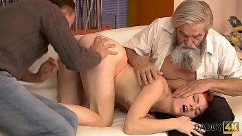 DADDY4K. Old man will never forget juicy young sissy of sons girl Vanessa Shelby