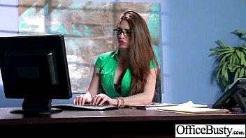 (veronica vain) Slut Big Tits Office Girl Like Sex Action video-30