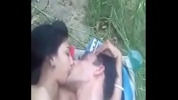 Bhabi gets fucked outdoor by hot