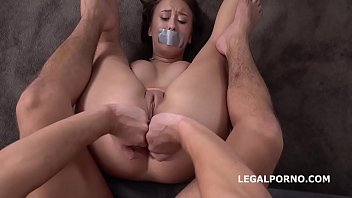 Sexy make up tip Russian anal casting tipsy tip first time anal with rough balls deep action and cum in mouth gl101