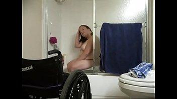 Gimp Christen taking shower