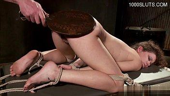 Horny housewife bondage slave