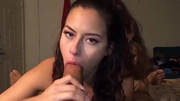 Sensual BBC Blowjob in POV - Teen Sucks and rides it deeply until the cumshot - pt.1 - more on Amateur-Cam-Girls.com