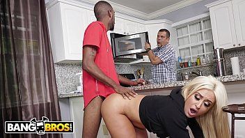 BANGBROS - PAWG Brandi Bae Loves Her Father&rsquo_s Friends, Especially The Black Ones