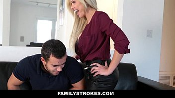 FamilyStrokes - MILF Fucks Step-Son for Revenge