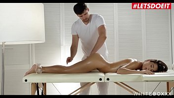 LETSDOEIT - Russian Bombshell Teen Liya Silver Has Erotic Massage Sex With An Anal Surprise thumbnail