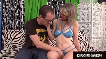 Xxx goofy sex Mature tart jamie foster sucks and fucks a goofy younger guy