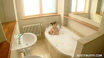 Busty Buffy - Solo Bath Image