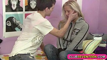 The smell club for teens Small teen pussy hungry for a sausage